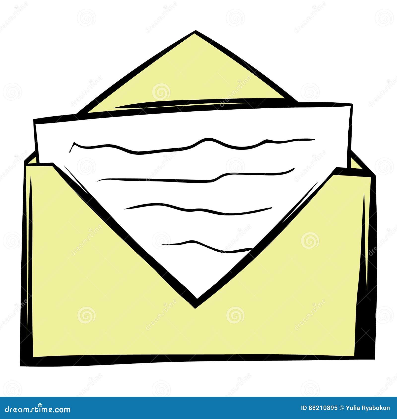 Image result for cartoon letter