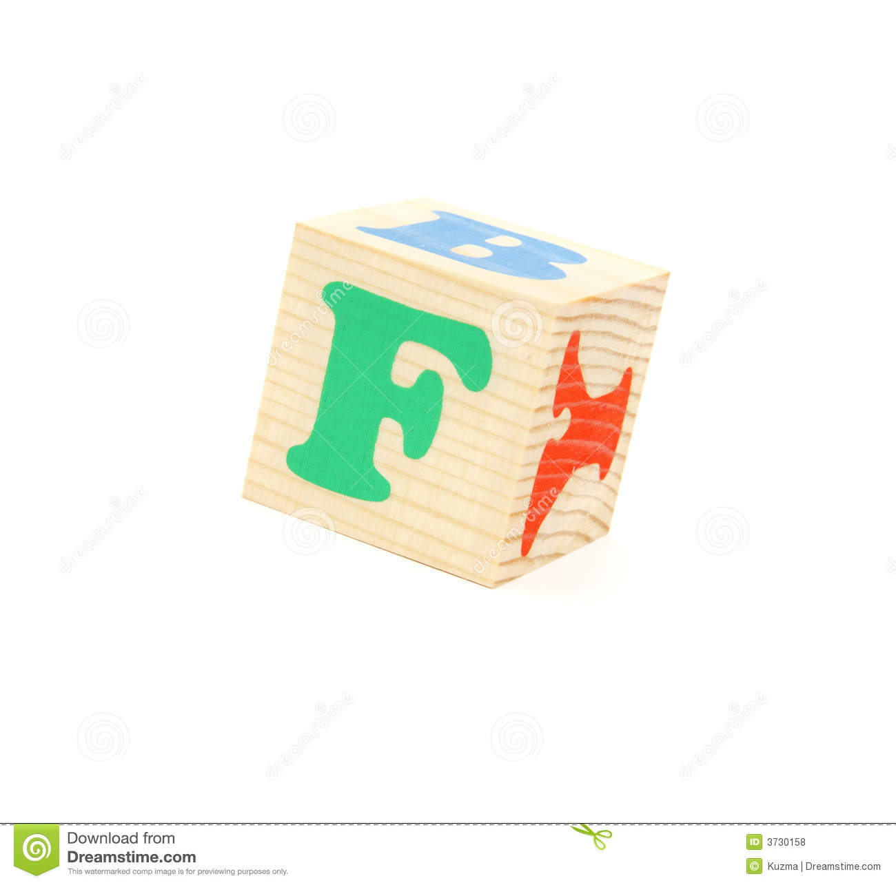 Letter F Royalty Free Stock Photos - Image: 3730158