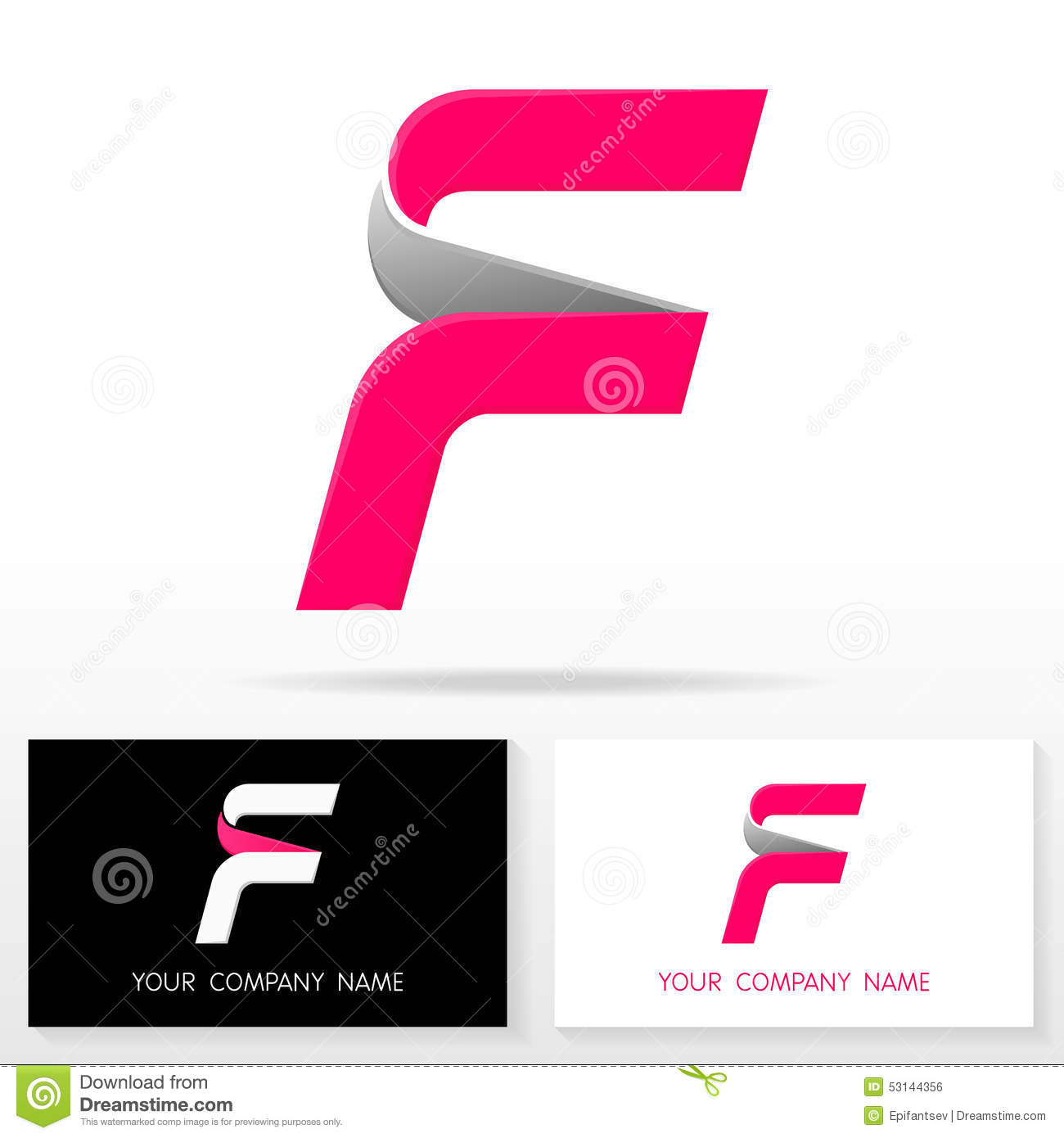 More similar stock images of ` Letter F logo icon design template ...