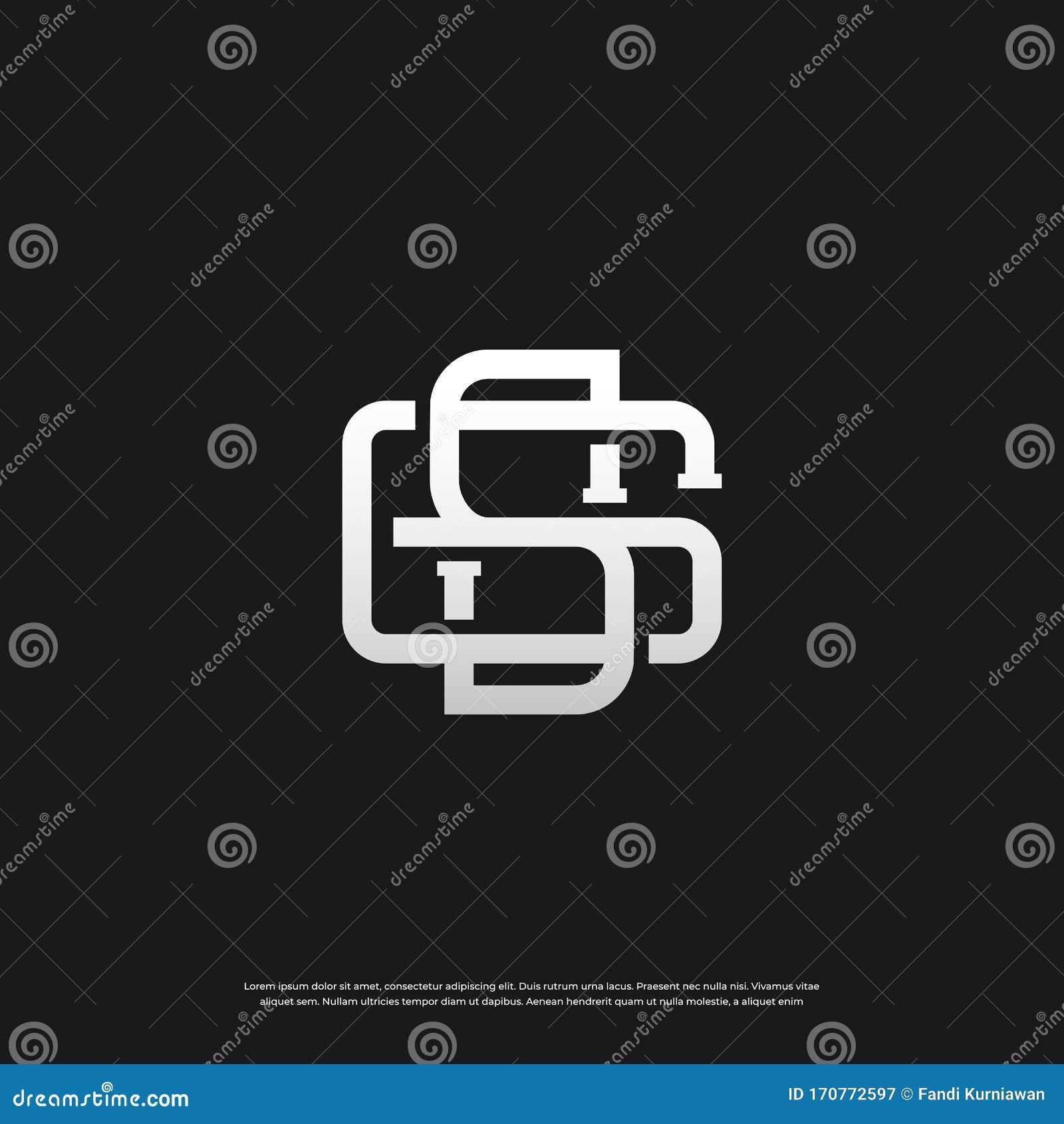 Letter Gs Sg G S Monogram Logo Design Vector Illustration Stock Vector Illustration Of Finance Luxury 170772597