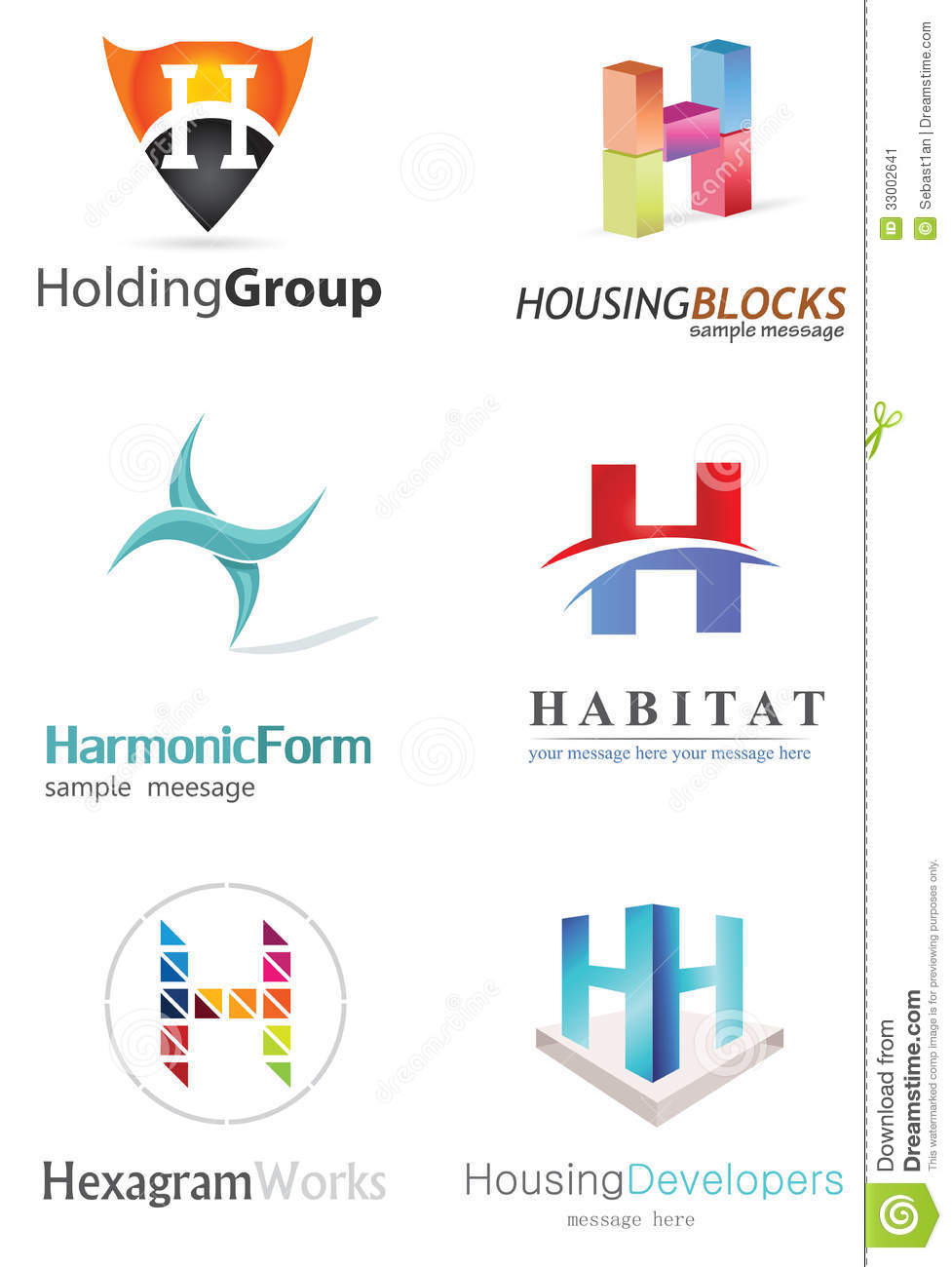 Stock Image Letter H Logo Alphabetical Design Concepts Image33002641 on Letter M Crafts