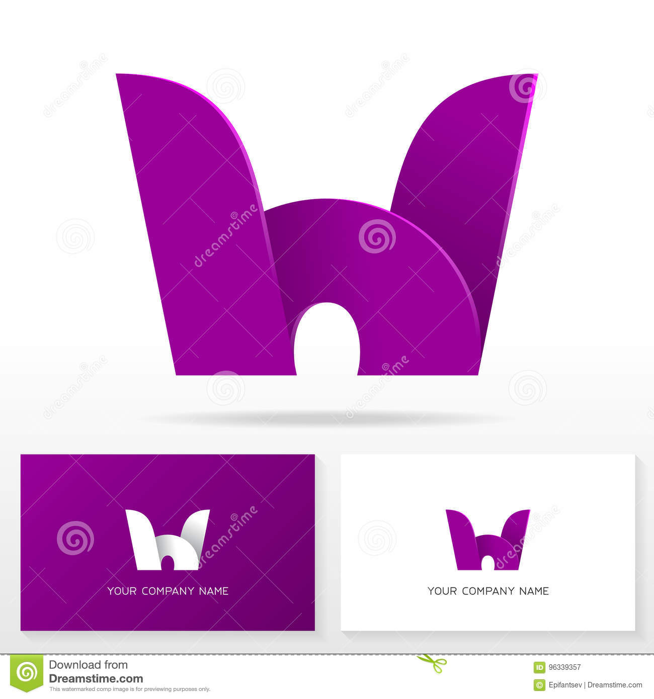 Letter h logo icon design template business card templates stock download letter h logo icon design template business card templates stock vector illustration of spiritdancerdesigns Image collections