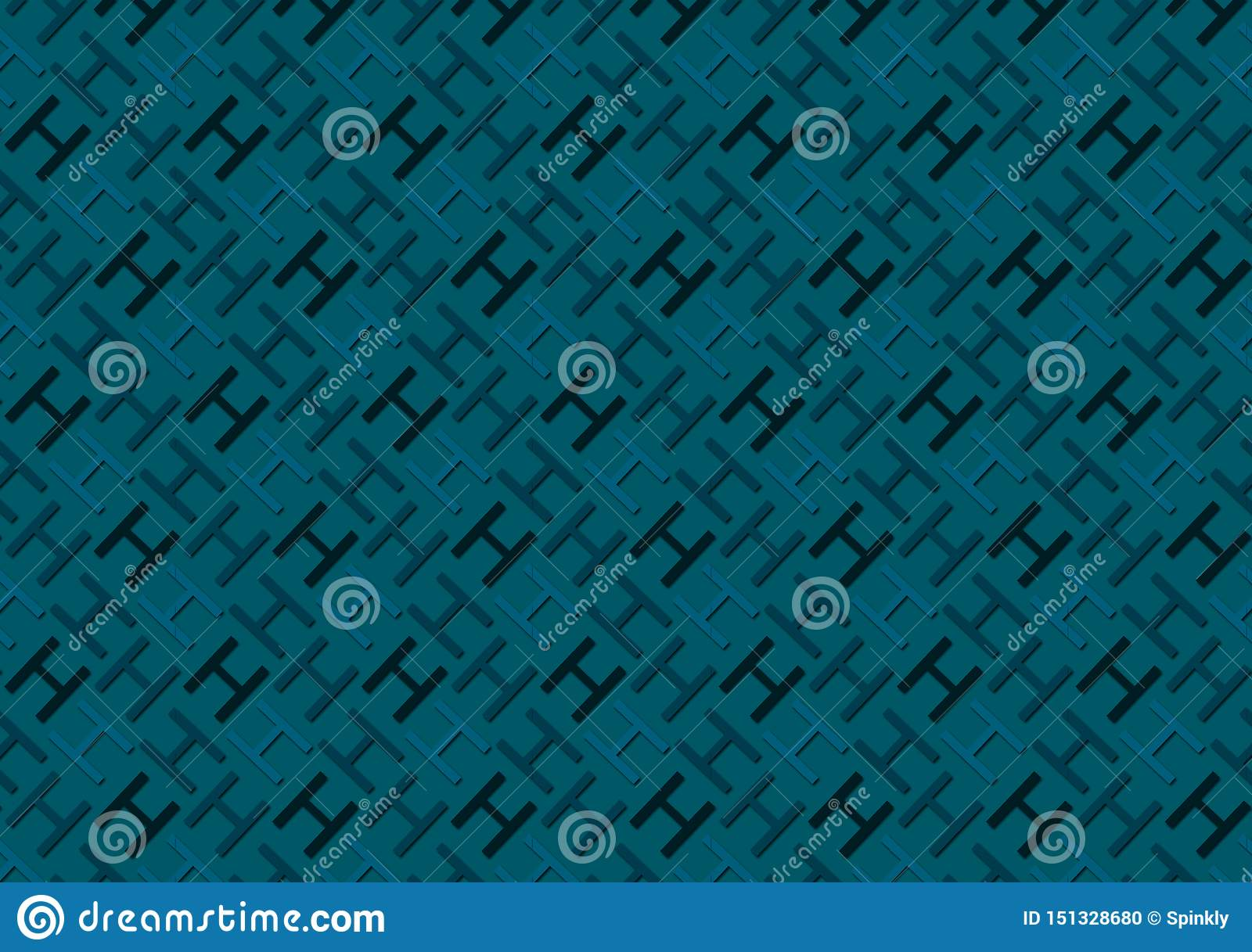 Letter H Pattern In Different Colored Blue Shades Wallpaper Stock Photo Image Of Size Plain 151328680