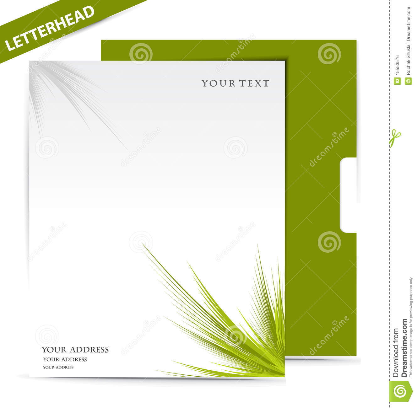 Letter Head Royalty Free Stock Image Image 15553576