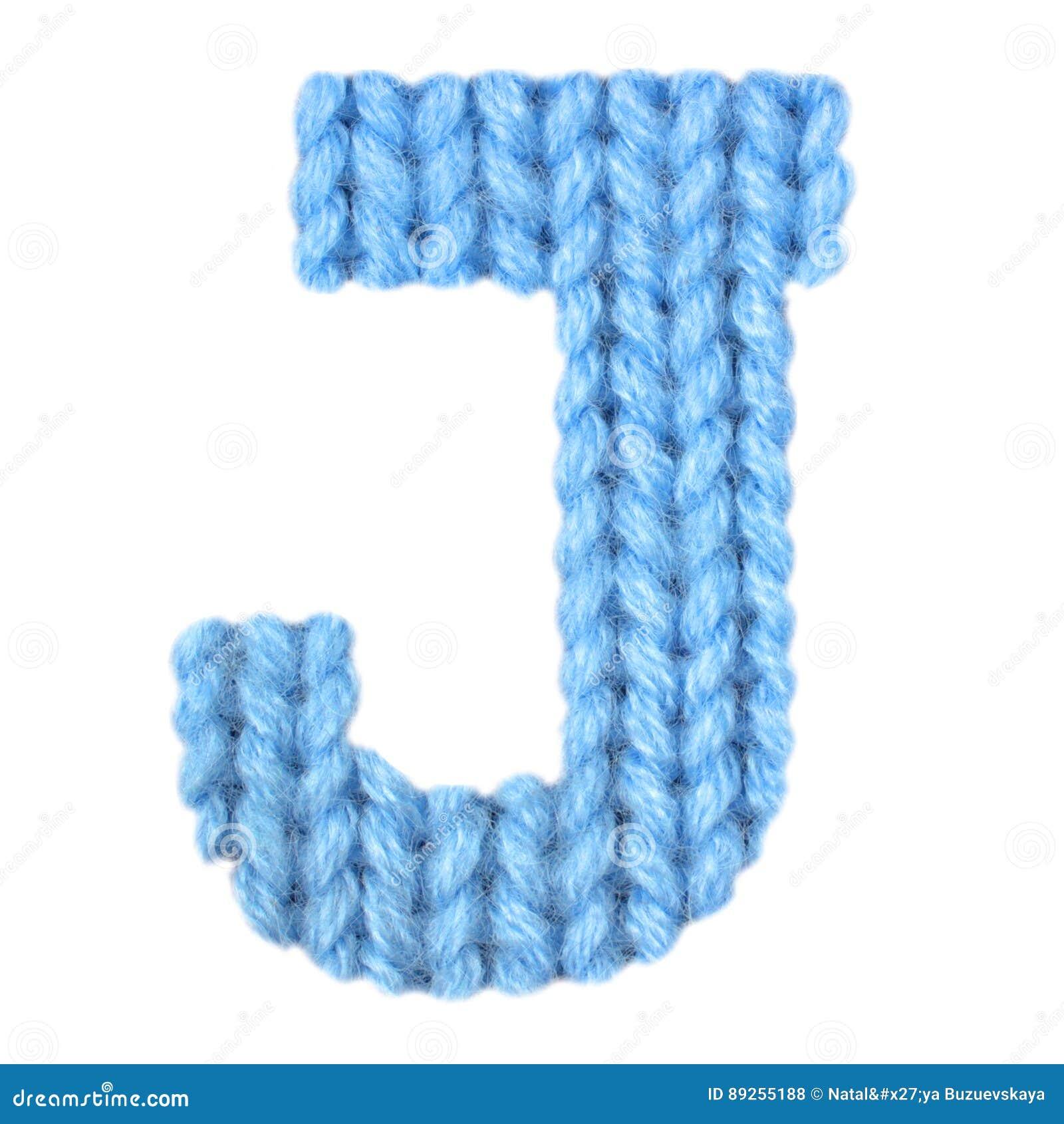 Letter J English Alphabet, Color Blue Stock Photo - Image of ...