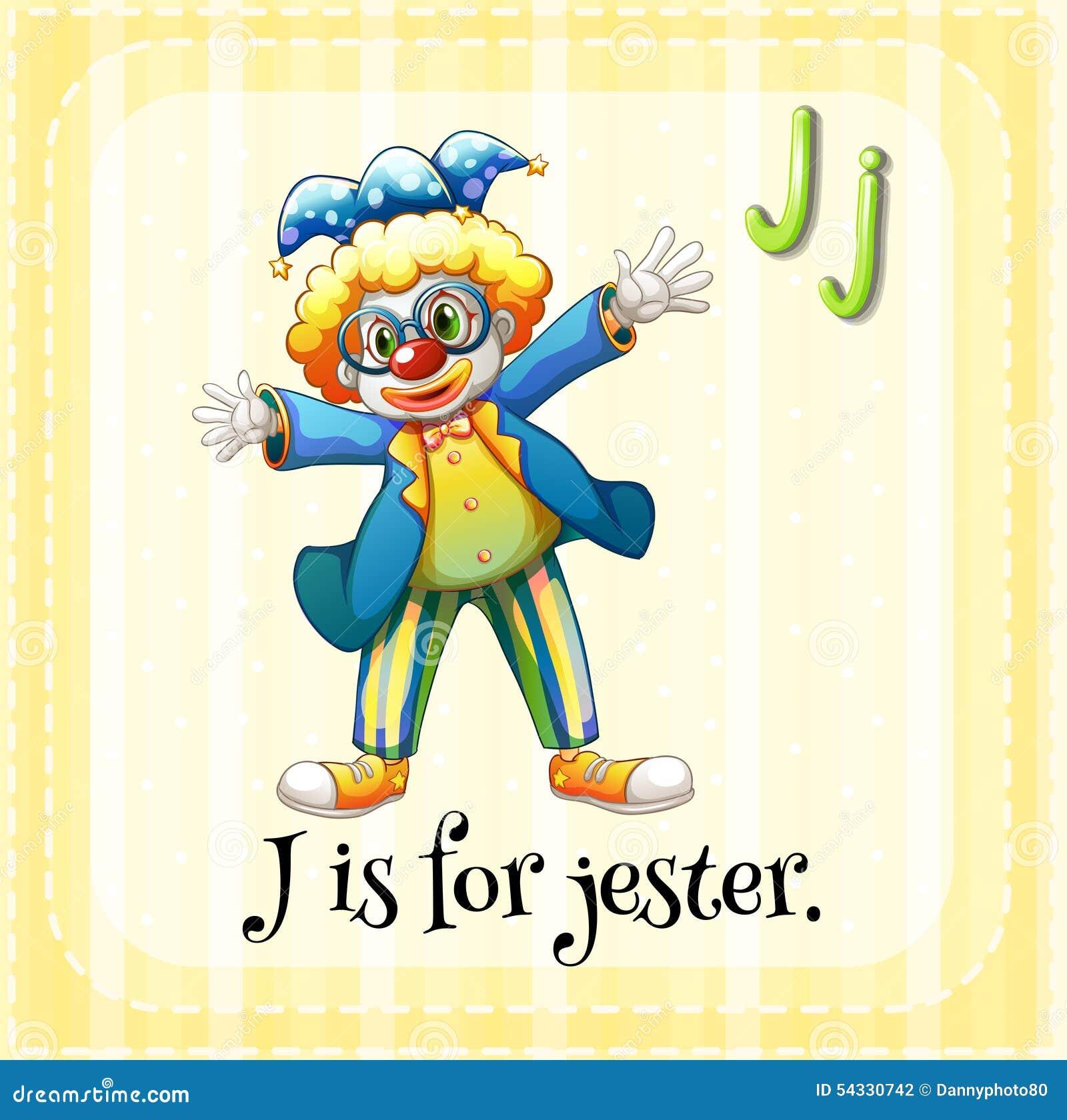 Letter J Stock Vector Illustration Of Cartoon Clipart 54330742