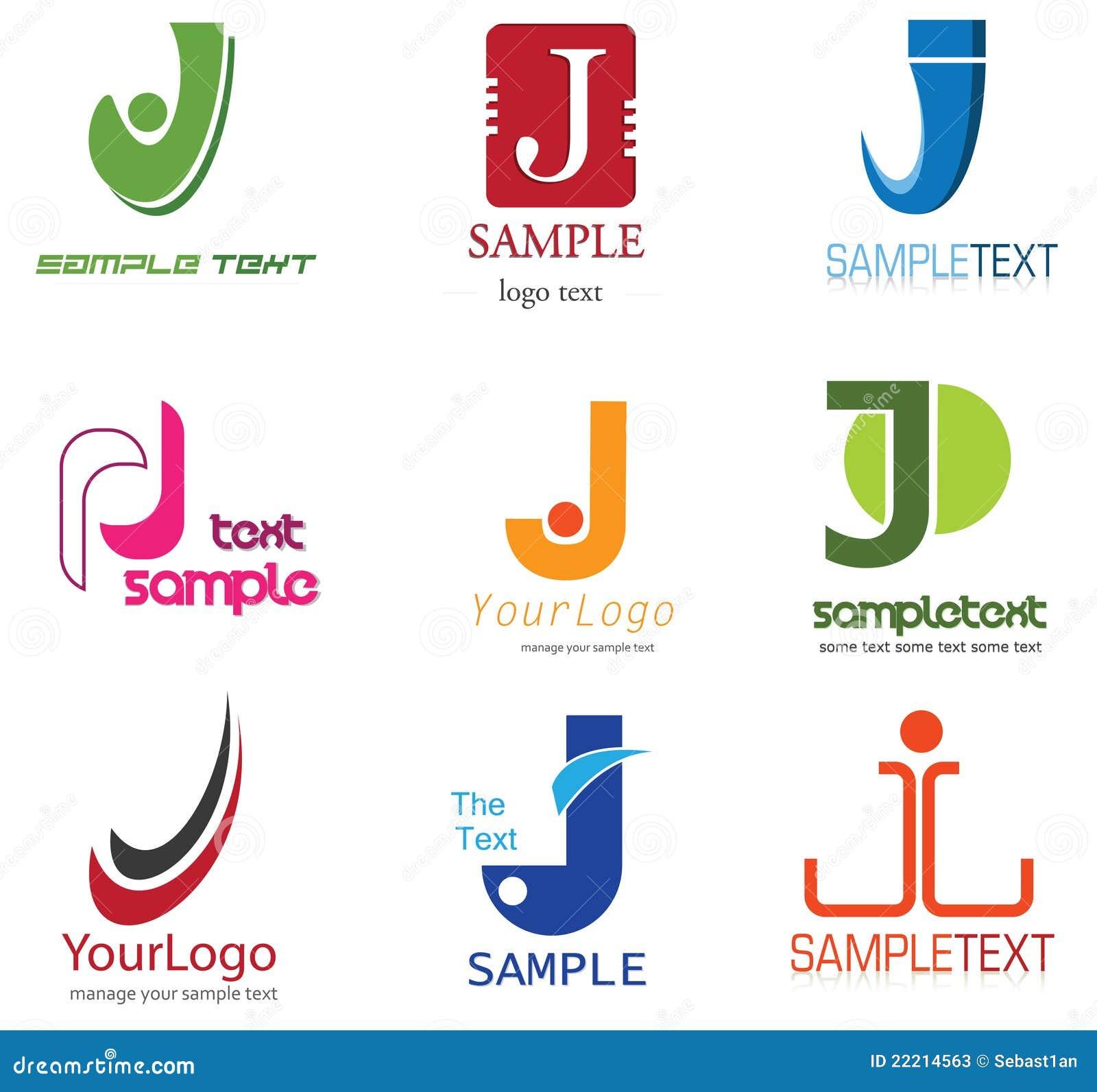 J Letter Design Letter J Logo S...