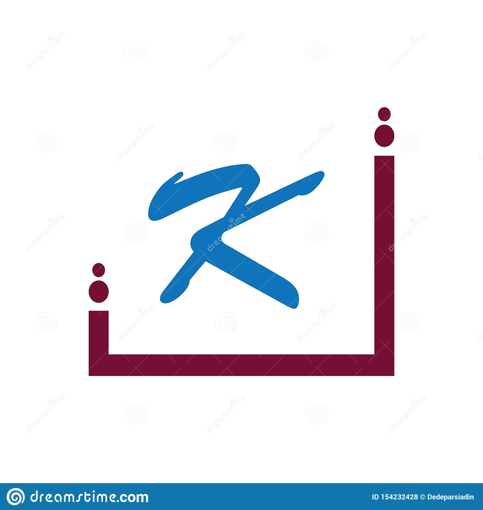 Letter K Logo Icon Design Template Elements Stock Vector
