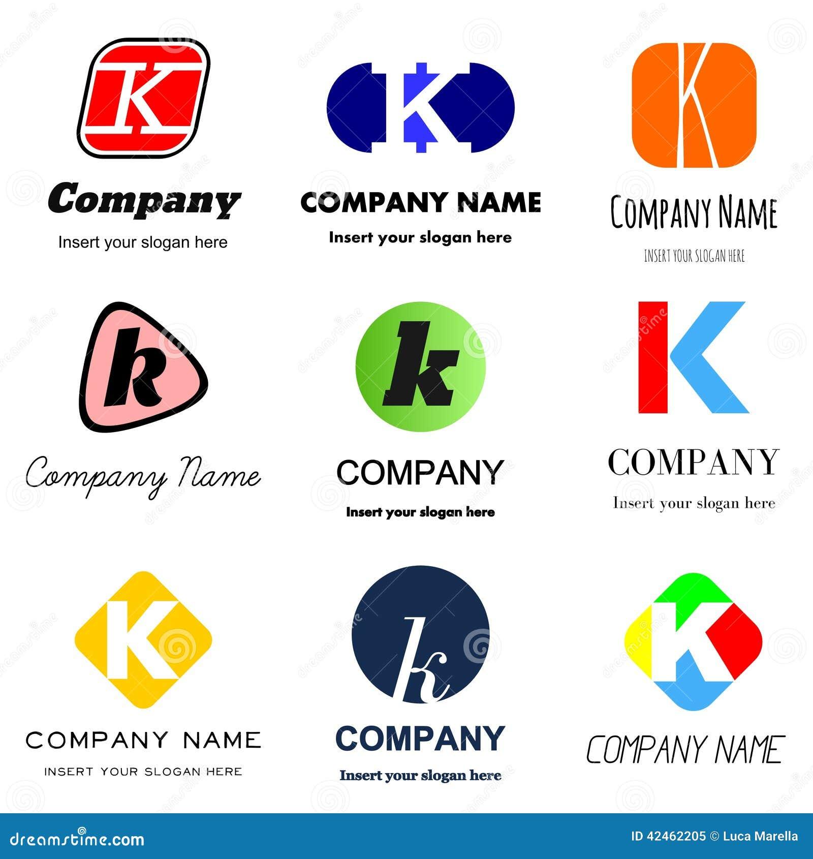 letter k logo stock illustration image 42462205