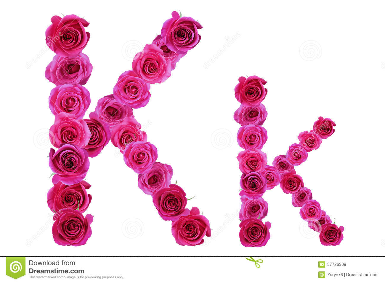 Letter K Roses Stock Photo Image Of Nature Roses Season 57726308