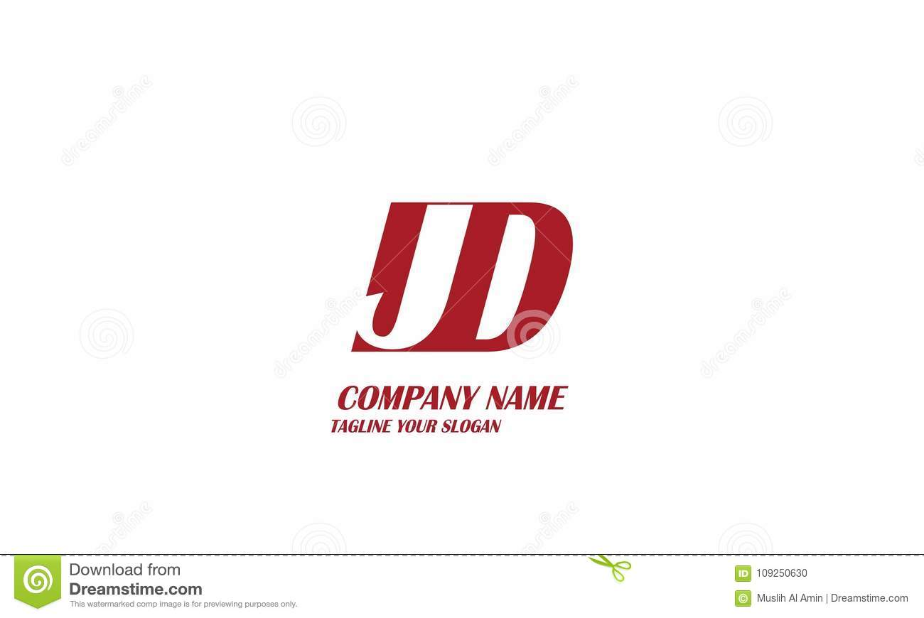 jd j d letter logo vector design stock vector illustration of marketing editable 109250630 https www dreamstime com letter logo design initial business company name creative logo design jd j d letter logo vector design image109250630