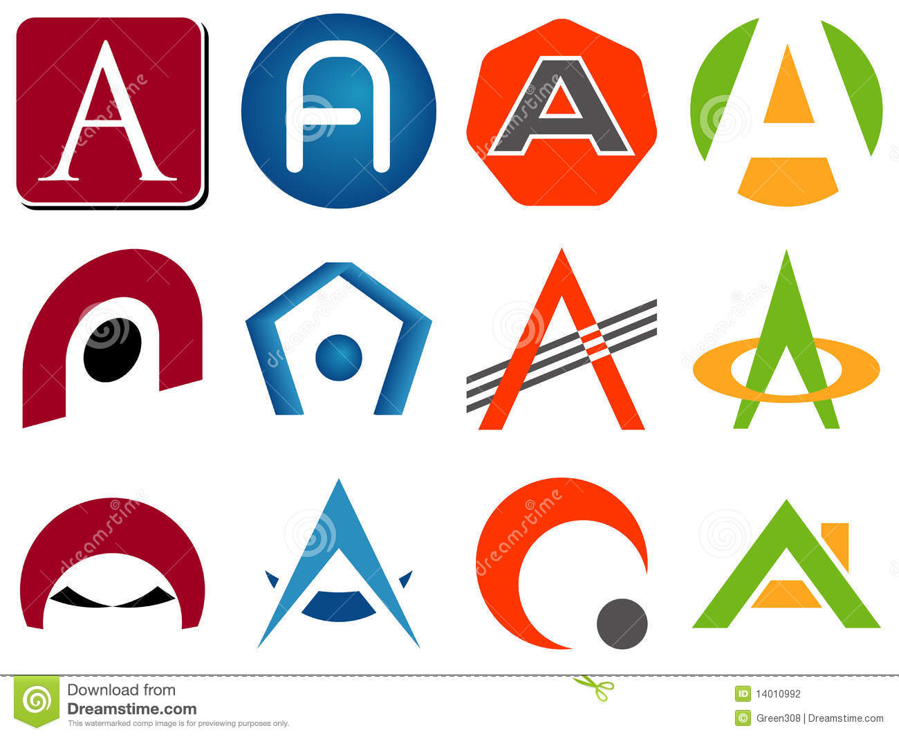 Letter A Logo Icons  A Logo