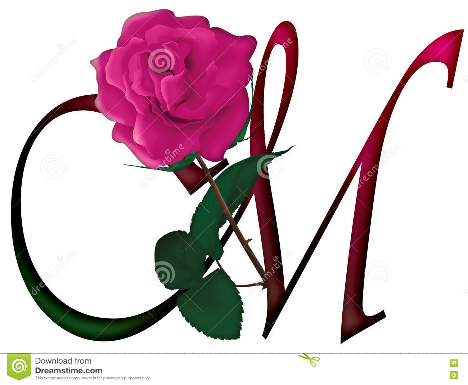 Letter m floral font stock image illustration of format 78539195 download letter m floral font stock image illustration of format 78539195 thecheapjerseys Image collections