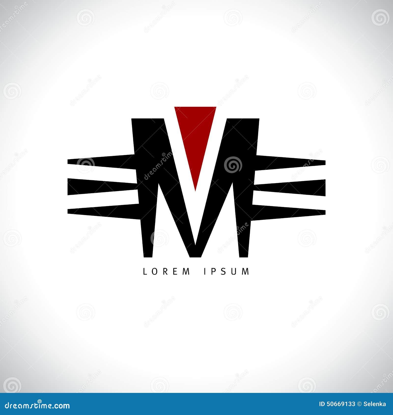 Letter M Logo Stock Vector Image 50669133