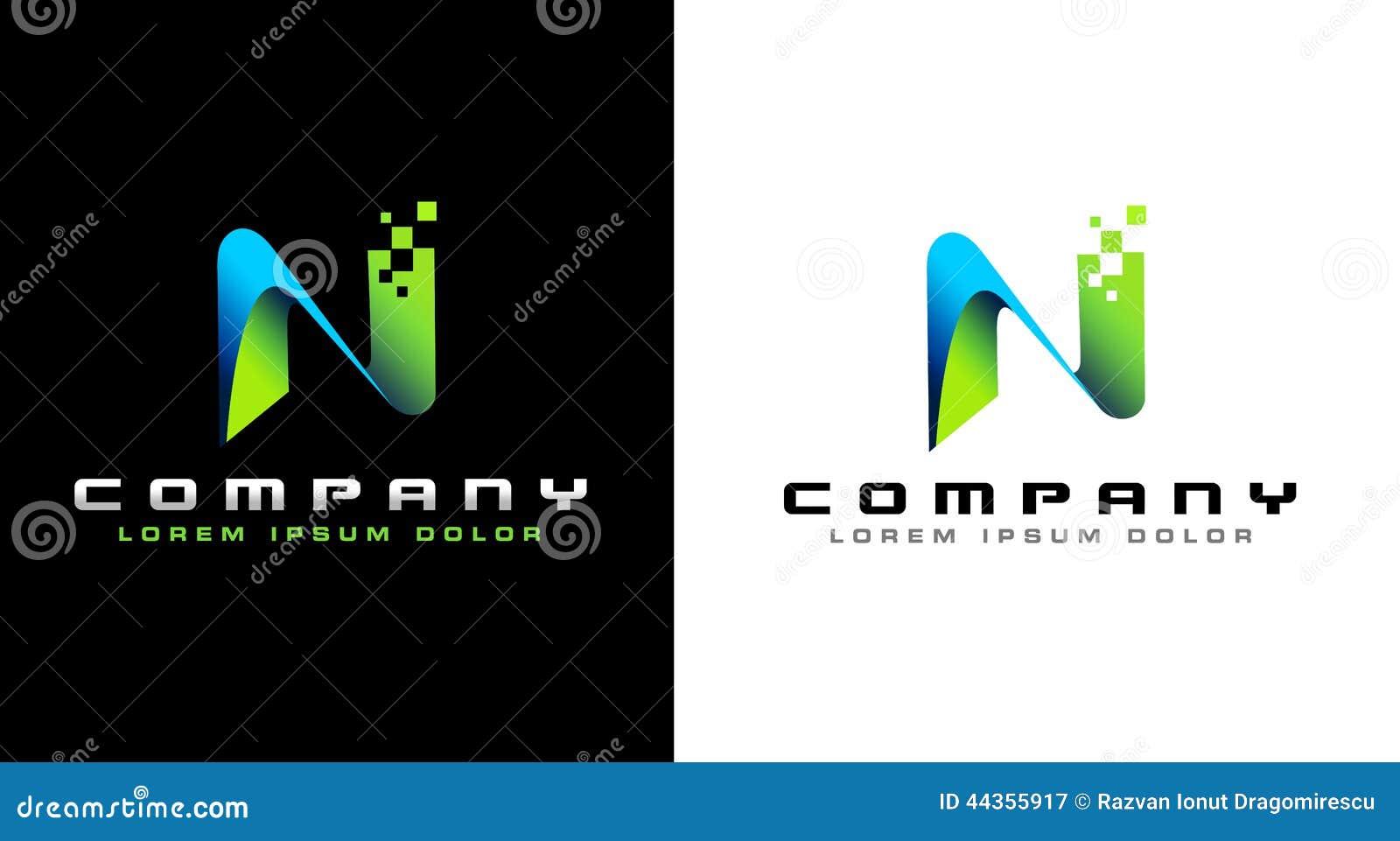 Letter N Logo  N Logo