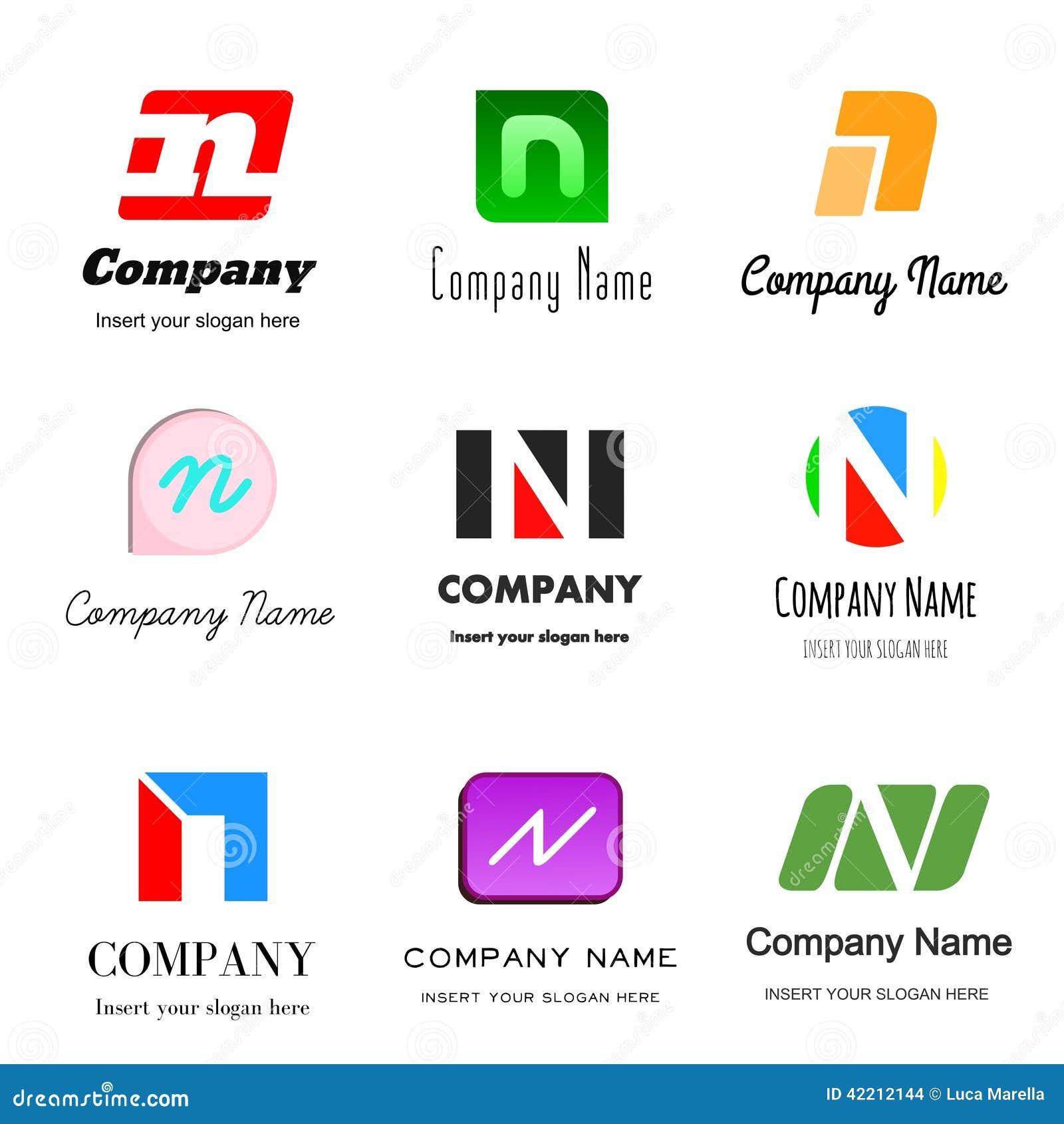 Letter N logo  N Logos
