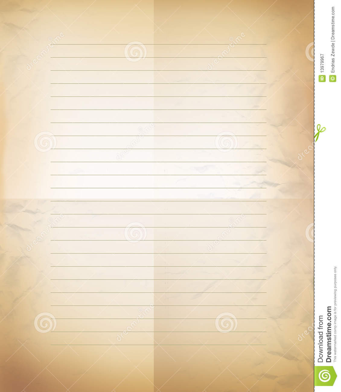 Old Blank Letter Paper Old Classic Blank Letter Paper