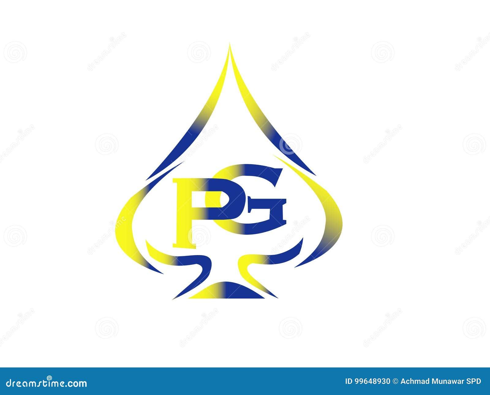 Letter Pg Logo Stock Illustration Illustration Of Shape 99648930