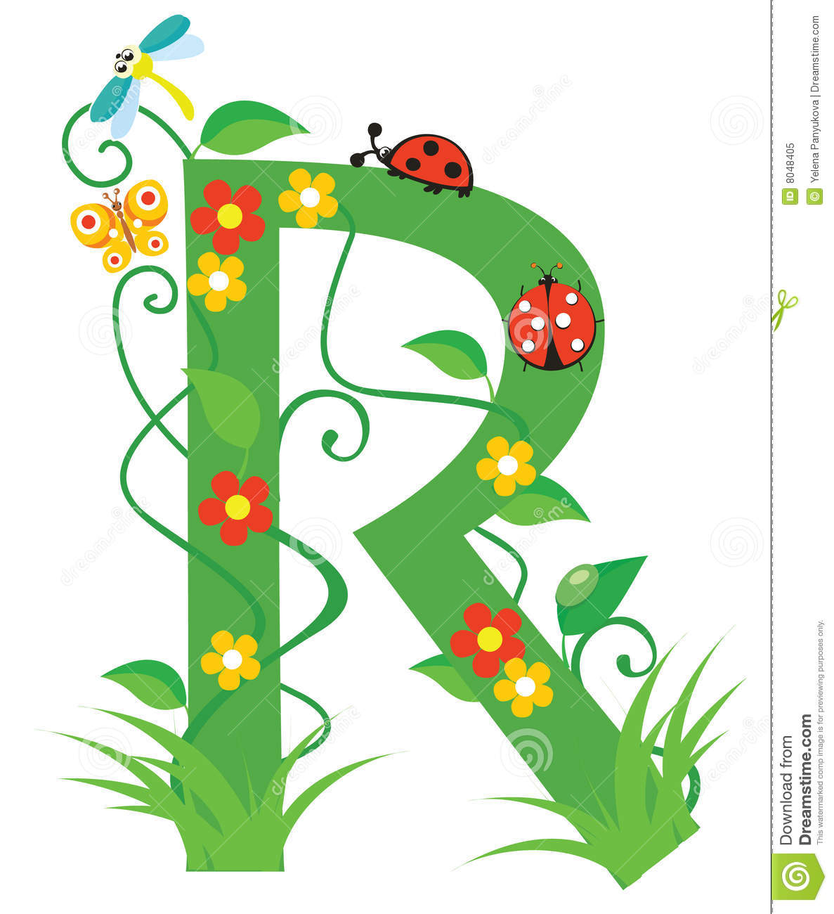 Letter R Royalty Free Stock Photo - Image: 8048405