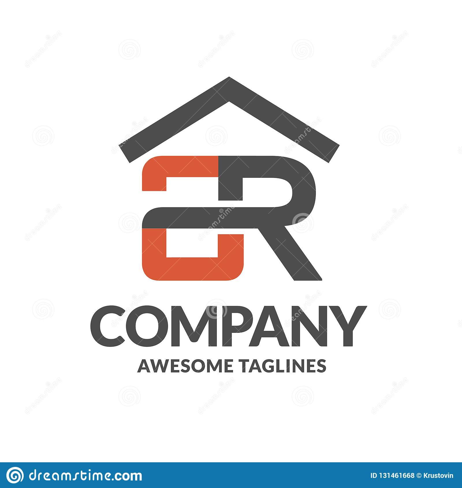 Letter A And R With Roofing On Top Logo Vector Stock Vector Illustration Of Home Business 131461668