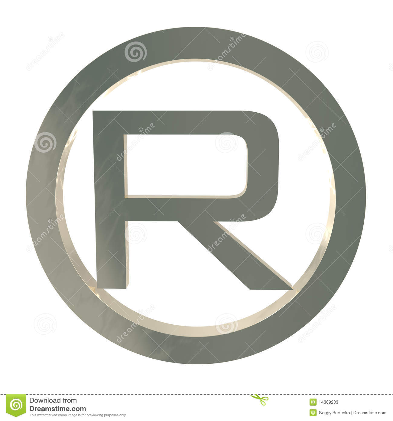 Letter r trademark symbol isolated on white stock illustration letter r trademark symbol isolated on white biocorpaavc Gallery