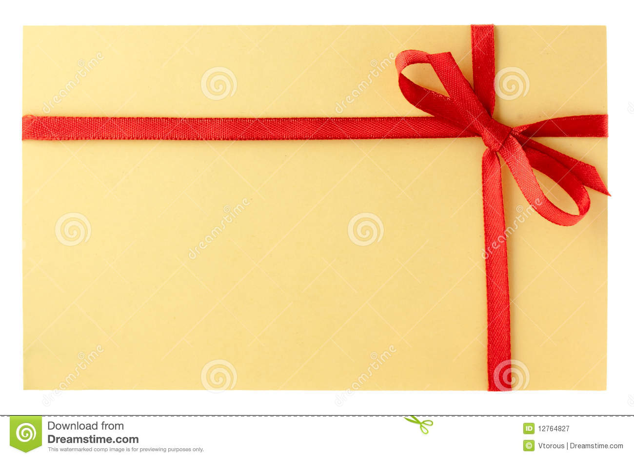 letter with red ribbon royalty free stock photography With letter with ribbon