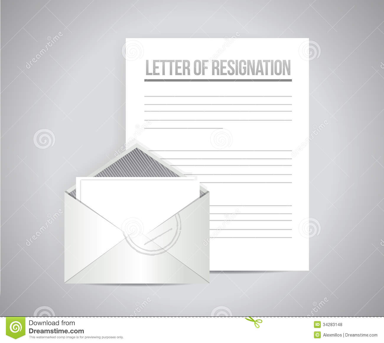 Letter of resignation papers illustration design stock illustration download letter of resignation papers illustration design stock illustration illustration of unhappy escape spiritdancerdesigns Gallery
