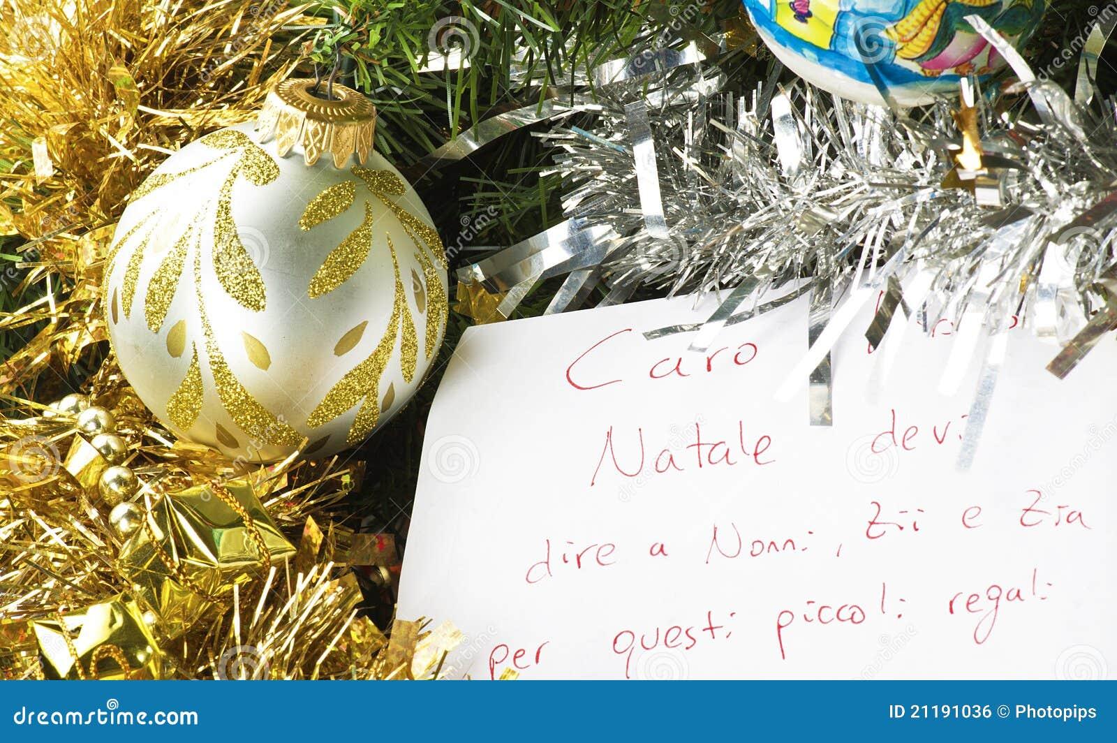 Letter for Santa Claus