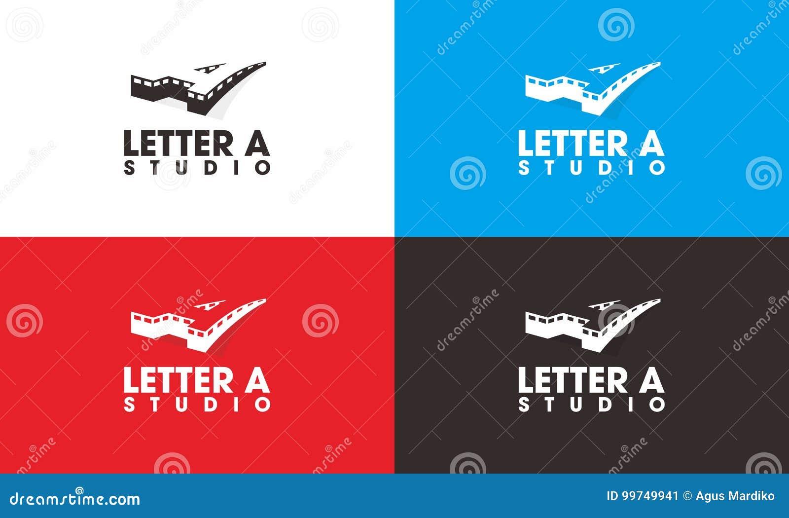 Letter A studio Logo