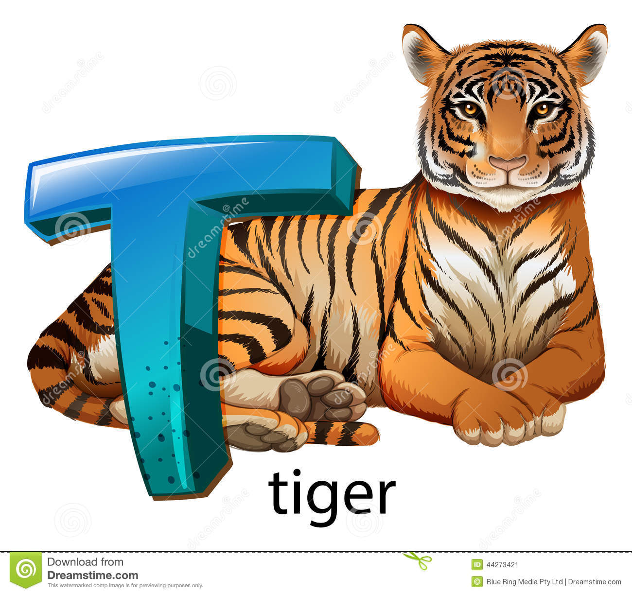a letter t for tiger stock vector image 44273421 tractor clipart outline tractor clipart old