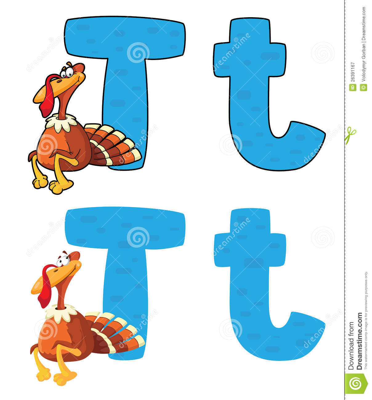 Letter Symbol For Turkey