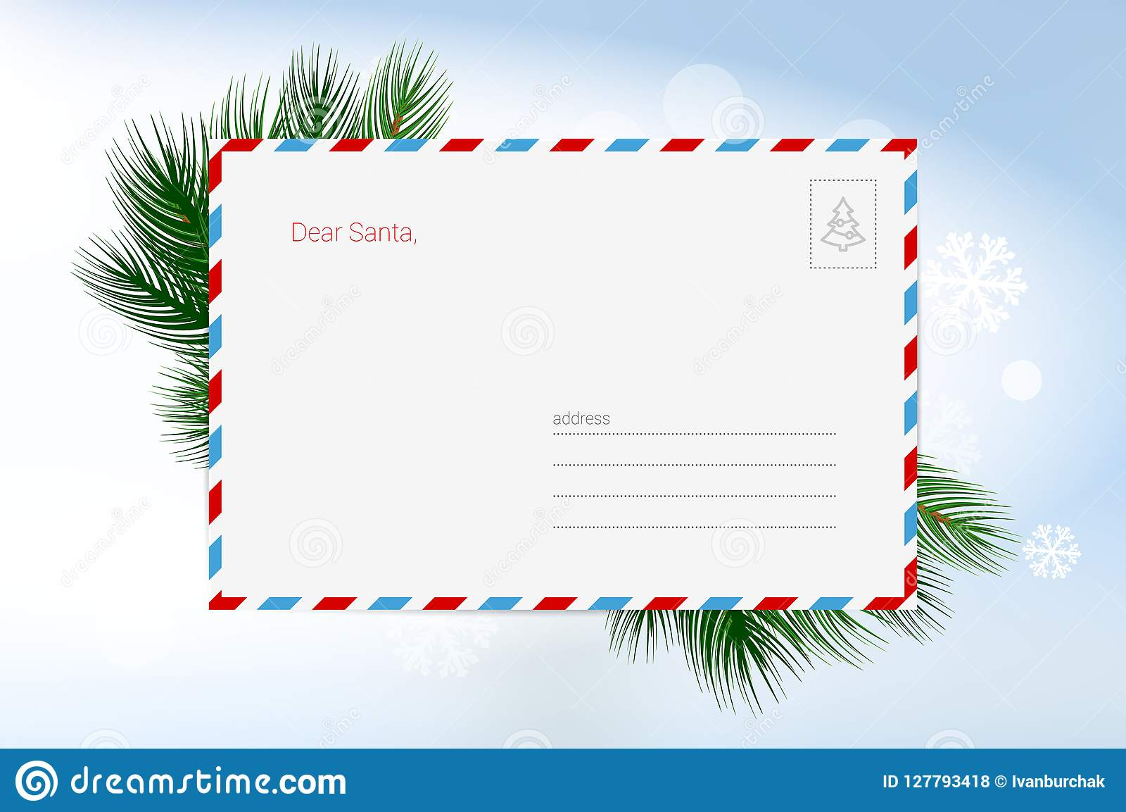vector christmas greeting card template merry christmas and happy new
