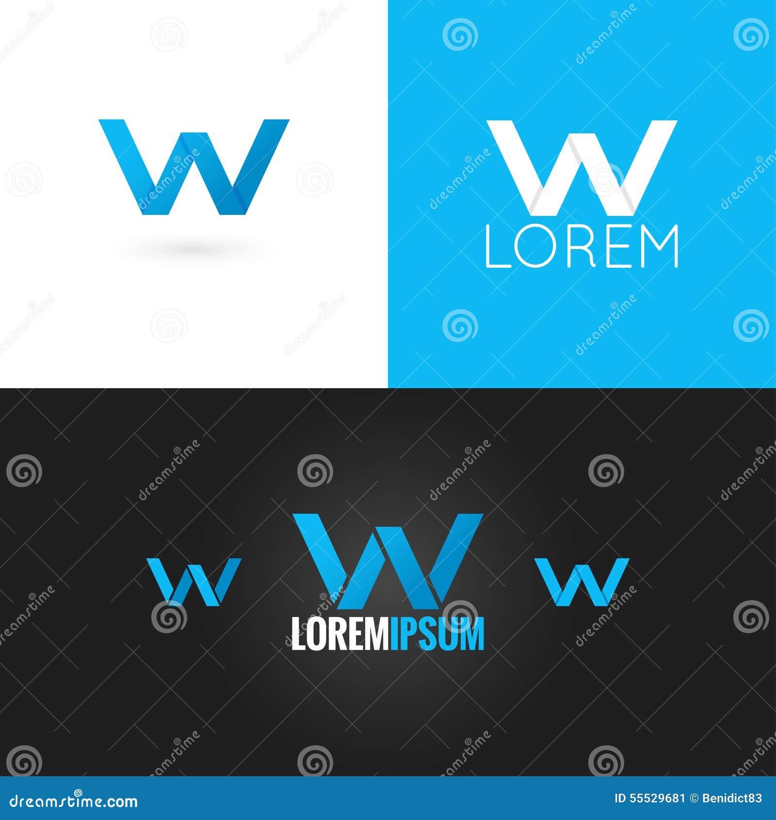 Letter W Logos l...W Logo Design Vector