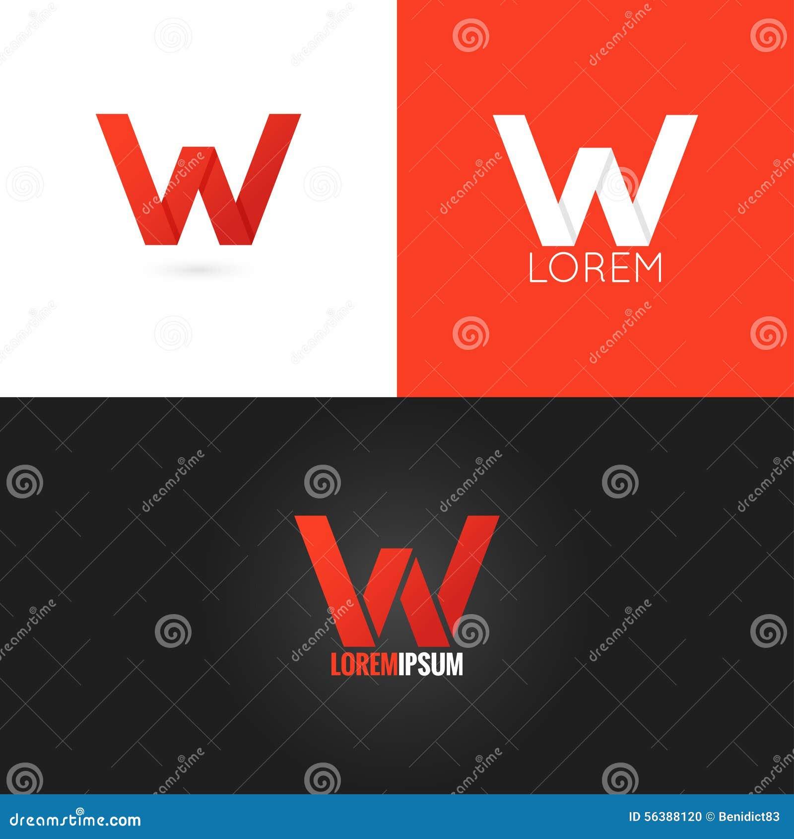 Letter W Logo De...W Letter Design
