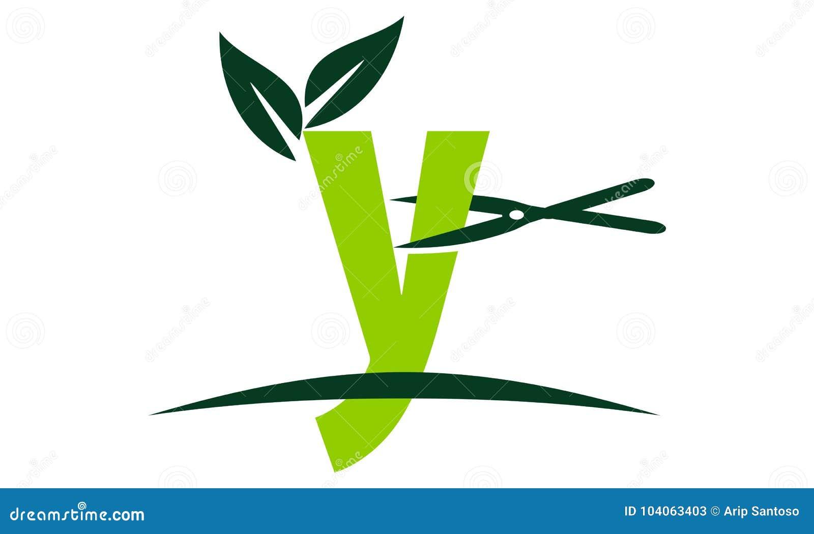 Letter y lawn stock vector illustration of cutter logotype 104063403 letter y lawn maxwellsz