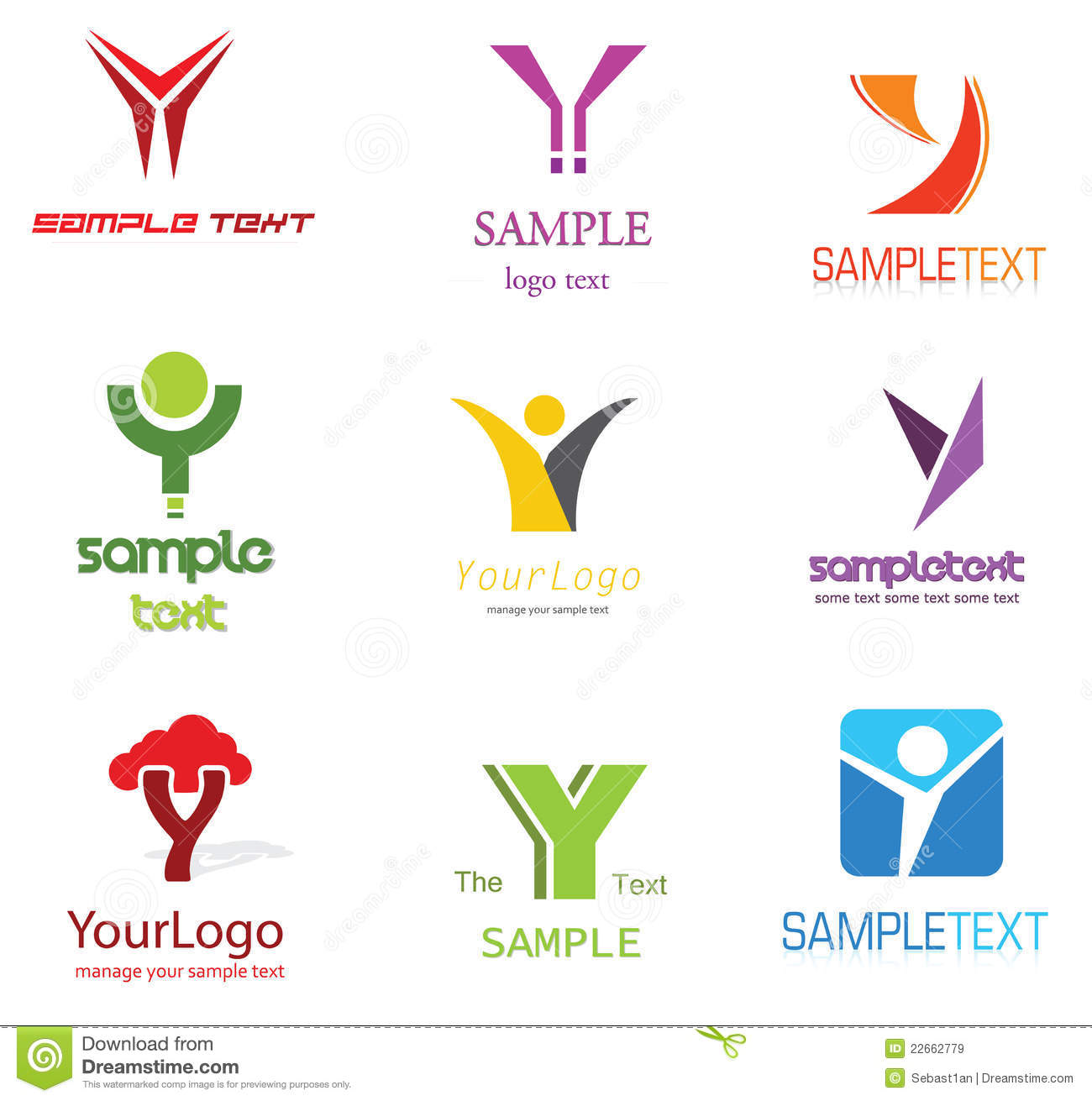 y design Letter Y Logo stock vector. Illustration of elements   22662779 y design