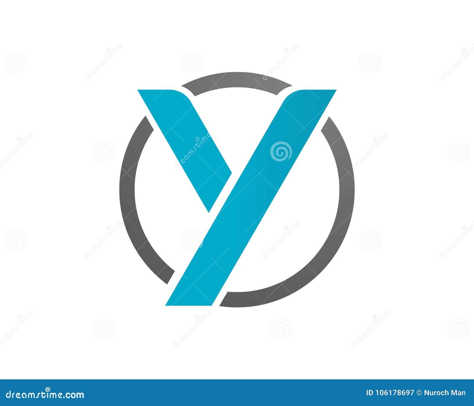letter y logos template symbol