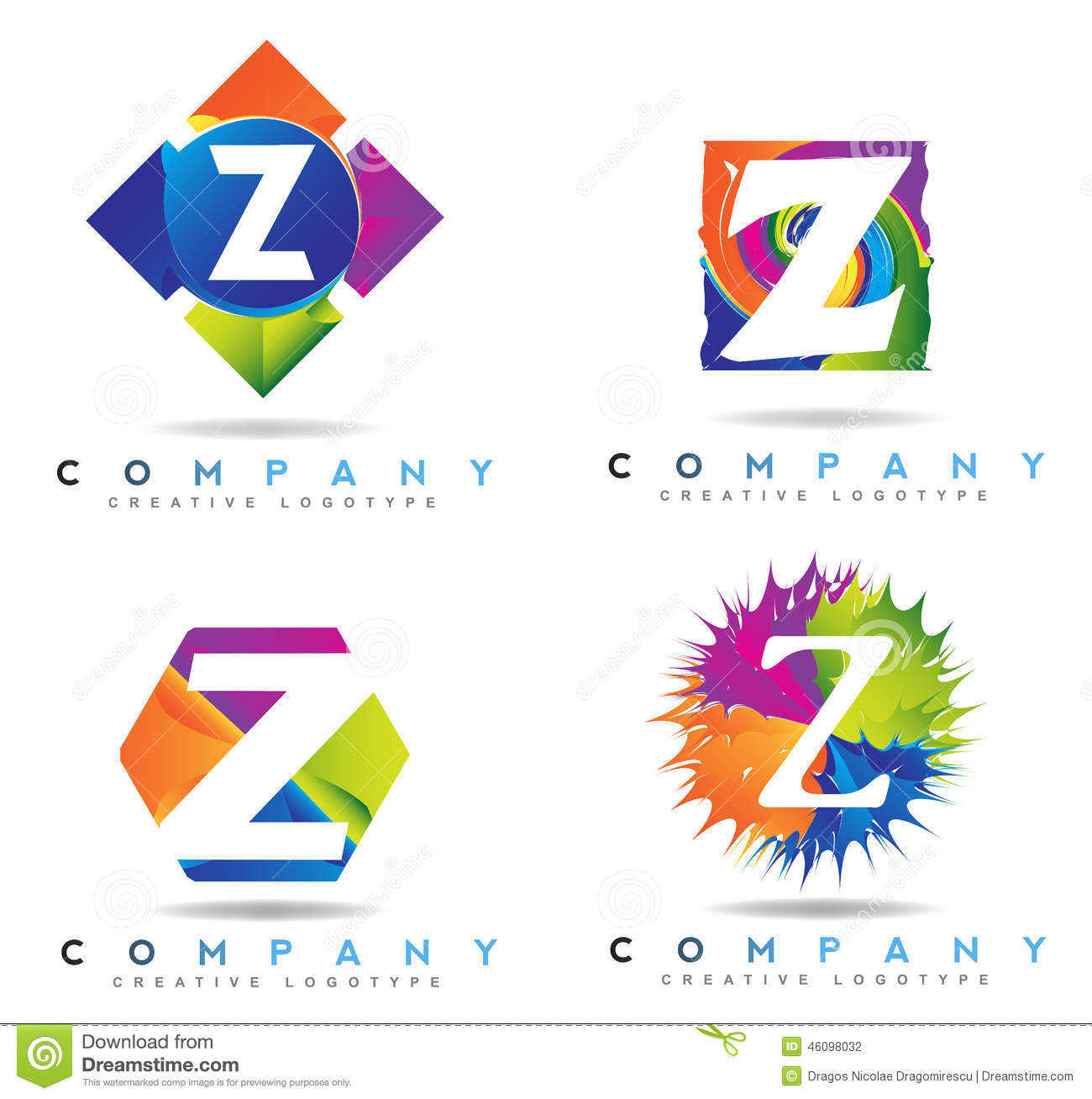 Letter Z Logo Stock Illustration - Image: 46098032
