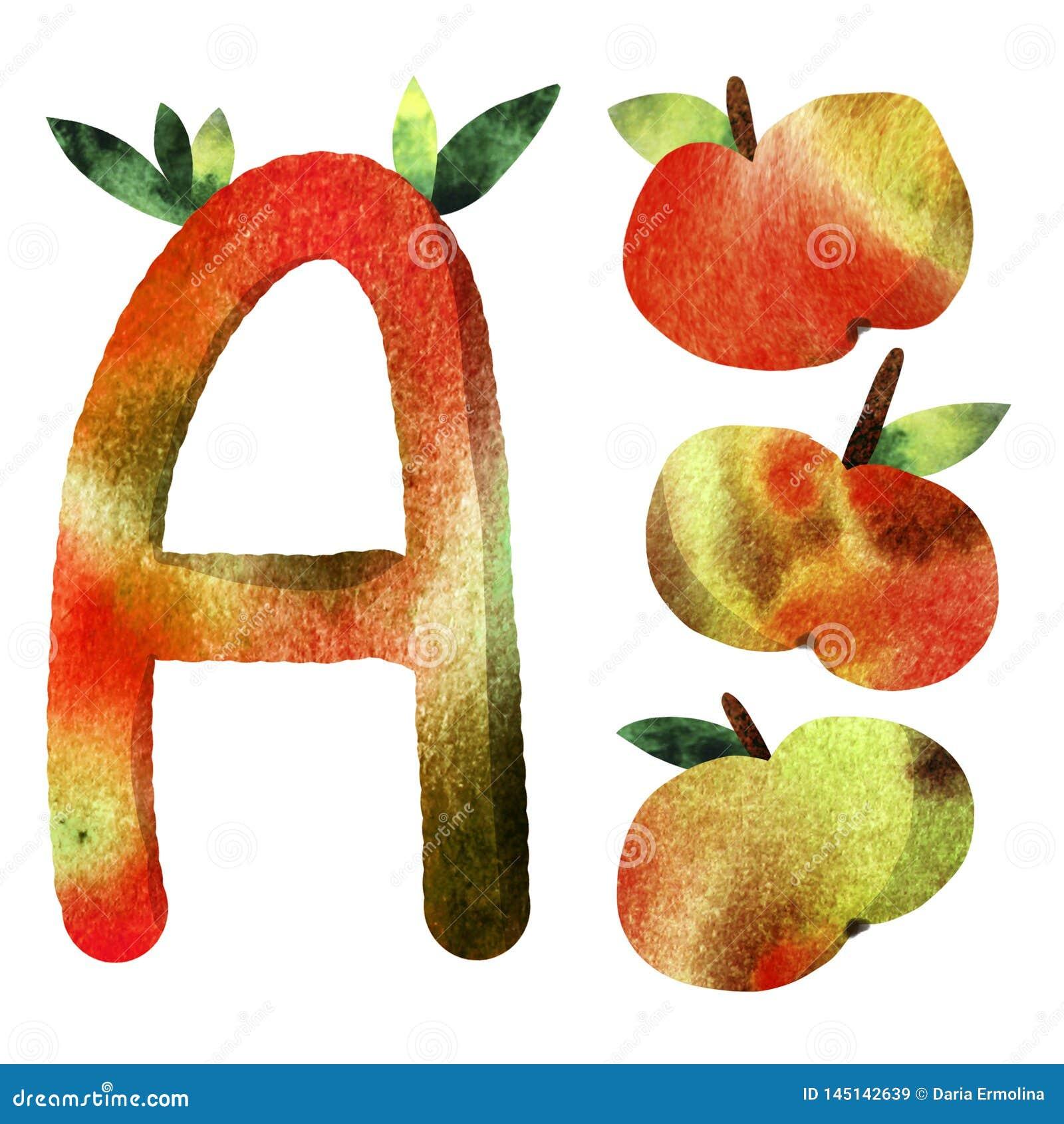 Lettera dell alfabeto dei bambini del modello