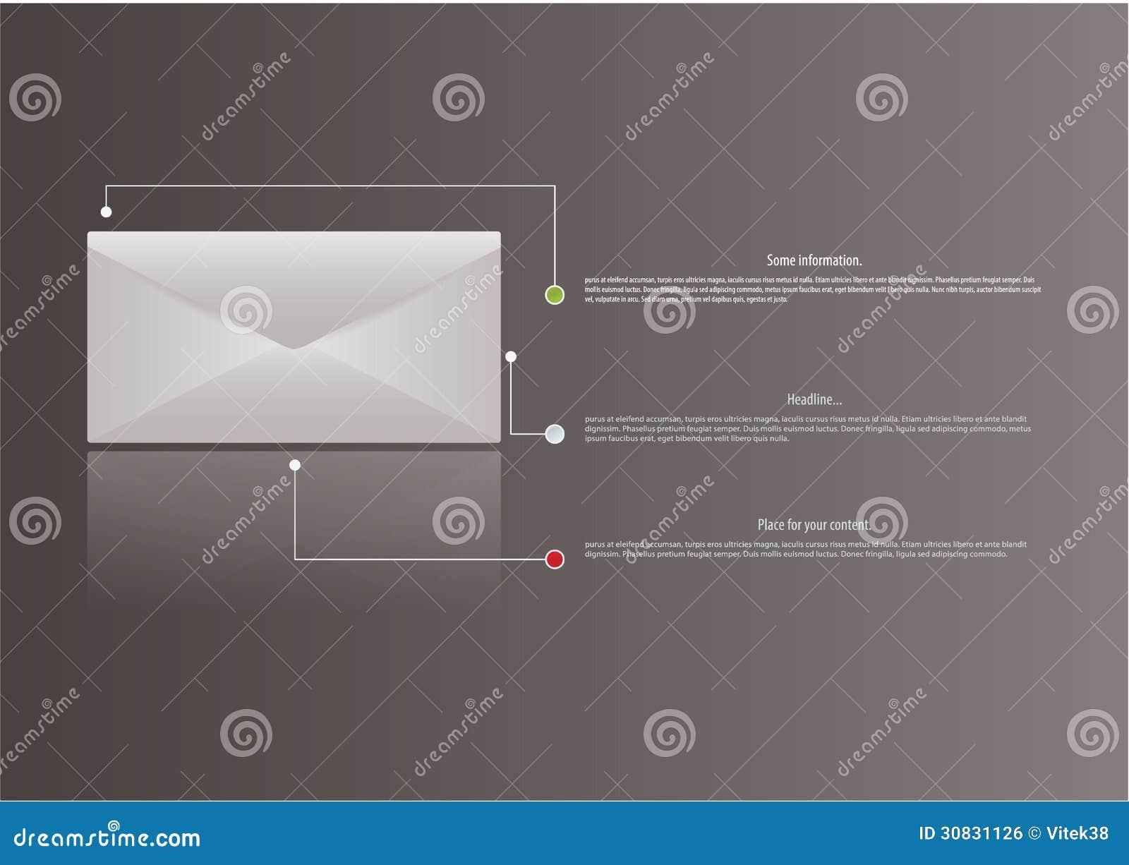 Lettera di vettore con la riflessione. Oggetto isolato con spazio per il yo