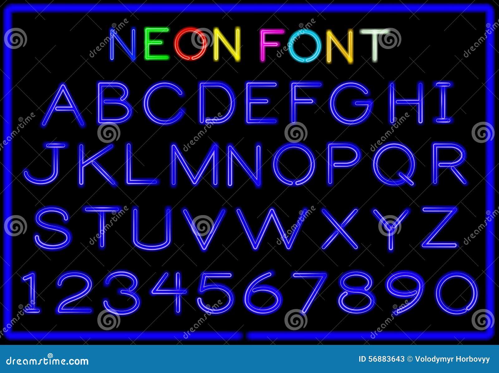 Lettere al neon