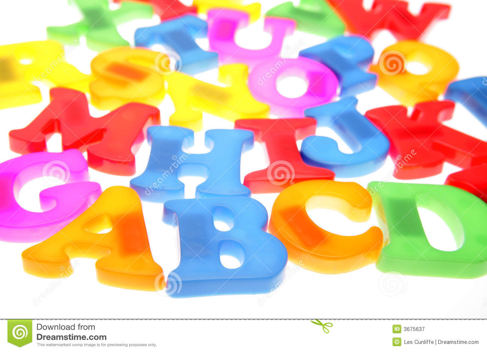 Download Lettere di alfabeto immagine stock. Immagine di dell, disegno - 3675637