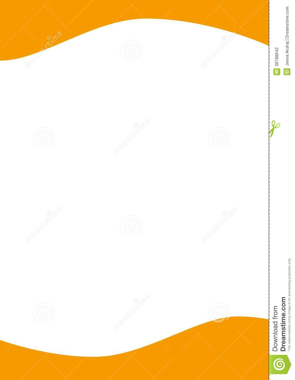 Letterhead is used for official letter for a company.