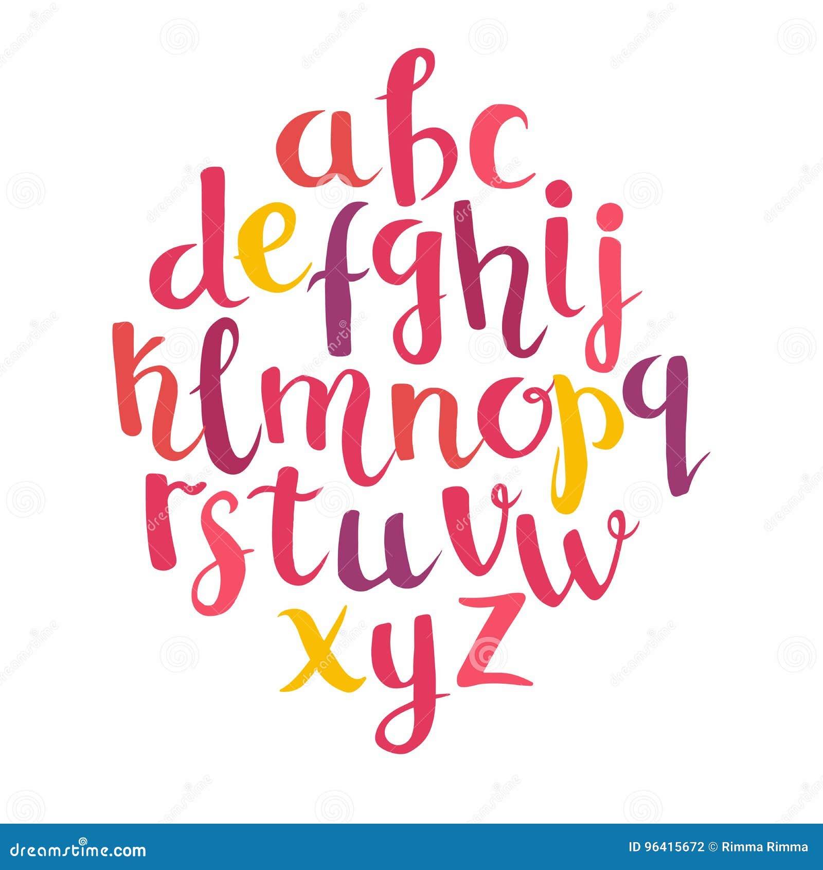 Lettering latin alphabet stock vector. Illustration of background ...