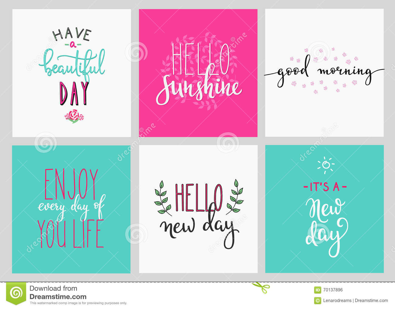 Image of: Sad Lettering Postcard Quotes Set Motivational Quote Sweet Cute Inspiration Typography Calligraphy Photo Graphic Design Element Hand Written Sign Dreamstimecom Lettering Postcard Quotes Set Stock Illustration Illustration Of
