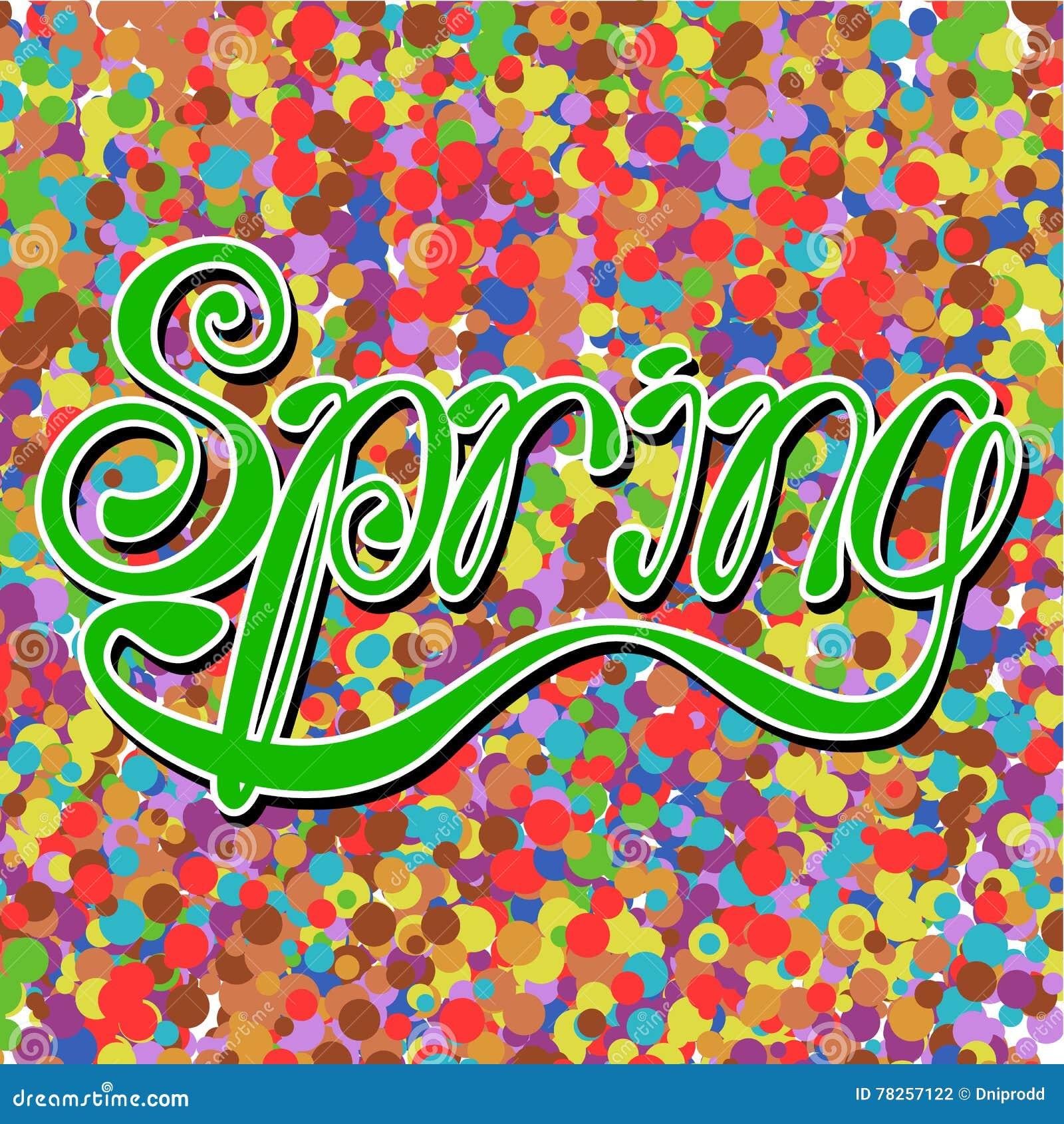 Lettering_spring