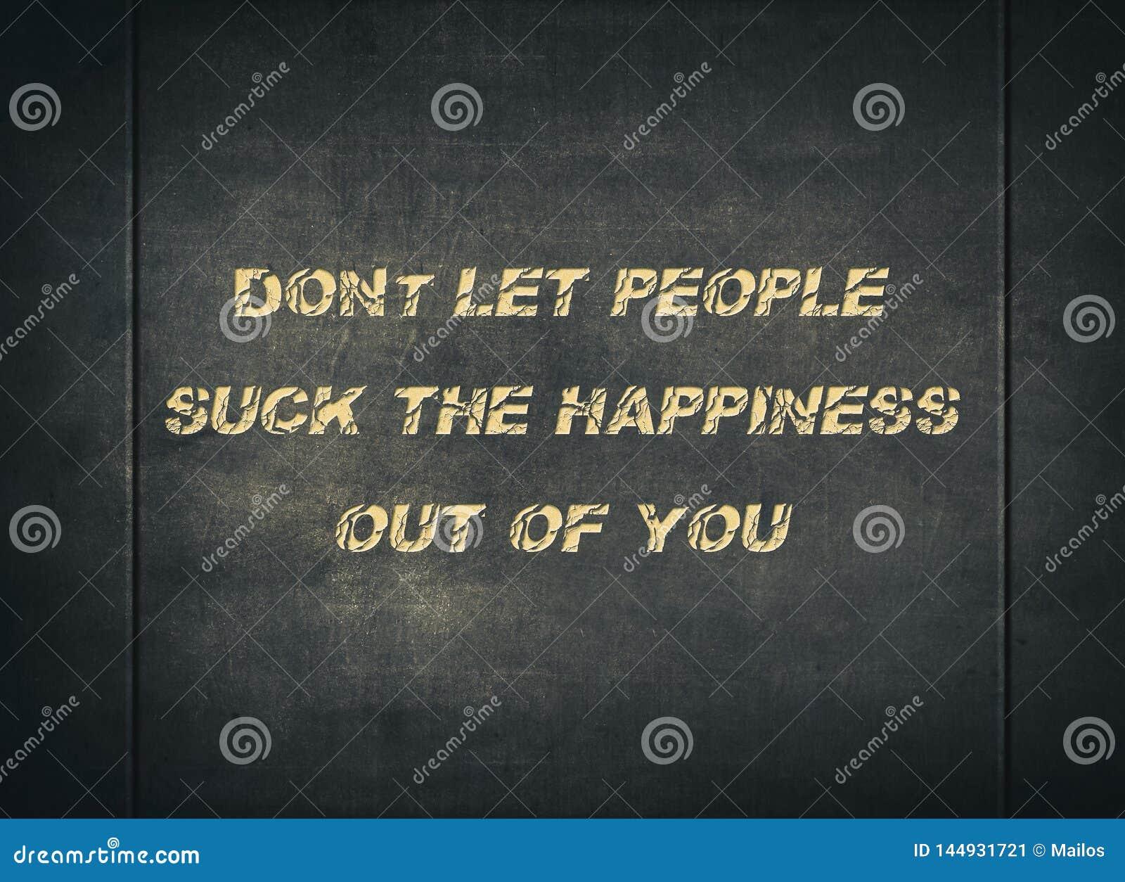 Η ευτυχισμένη ζωή ανθρώπων απολαμβάνει θετικό letterpress