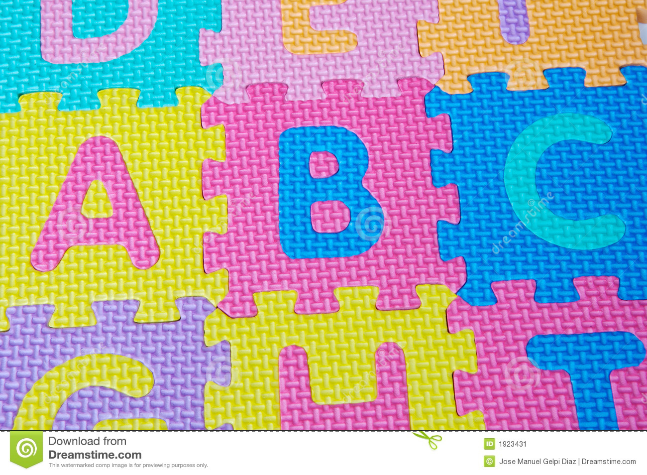 Letters Of Colors Of The Alphabet Stock Image - Image of educational ...