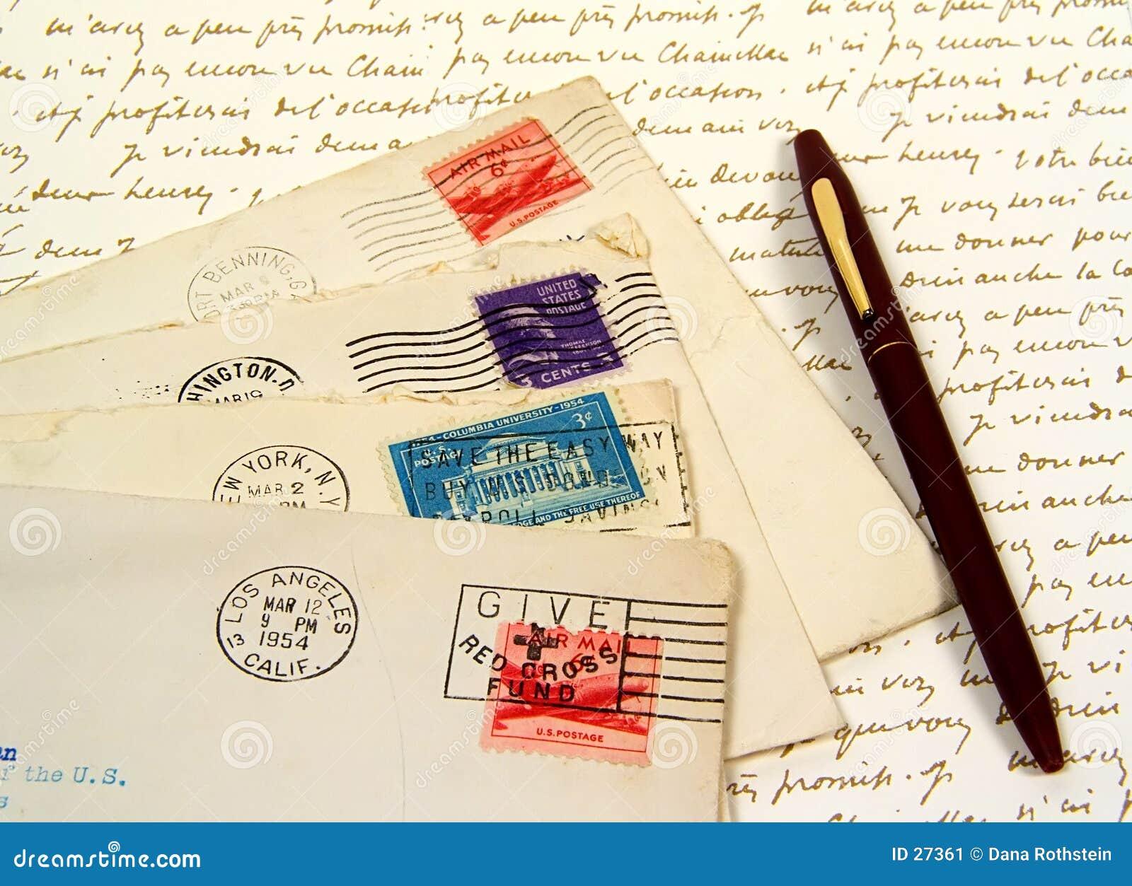 Letters gammalt