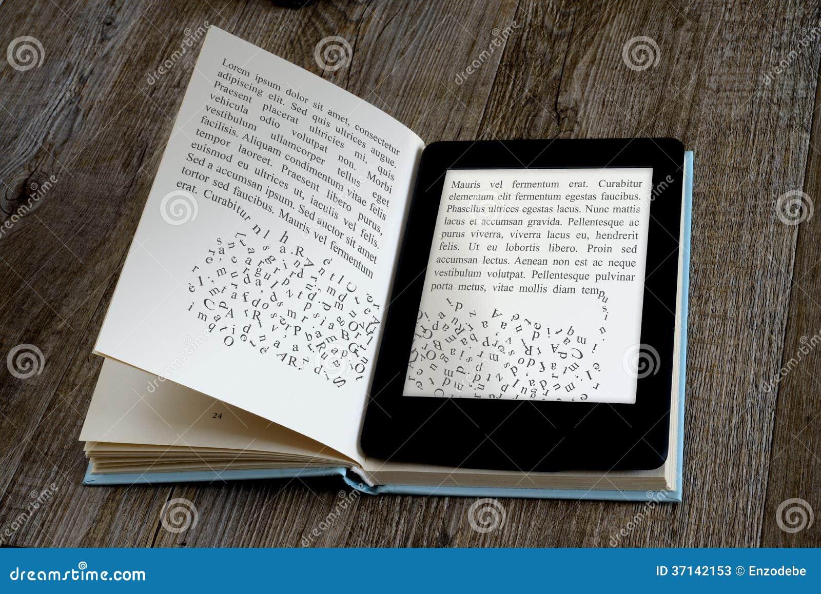 Lettore del libro elettronico